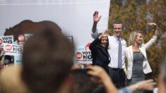 Harris hace campaña a favor del gobernador de California, que se enfrenta a elecciones revocatorias