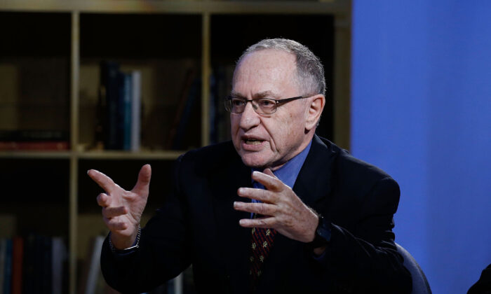 """Alan Dershowitz asiste a un """"Especial sobre las elecciones"""" en NEP Studios, en la ciudad de Nueva York, el 3 de febrero de 2016. (John Lamparski/Getty Images para Hulu)"""