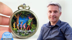 """""""El arte puede influir en la gente"""": Mundos en miniatura que inspiran belleza y bondad"""
