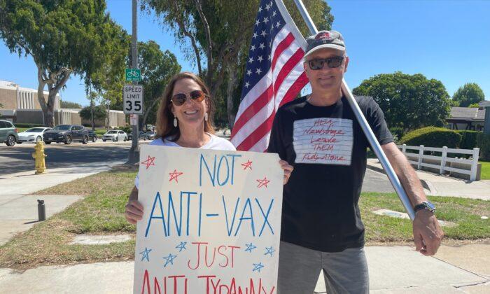 Enfermera de Mississippi organiza manifestación contra la orden de vacunación