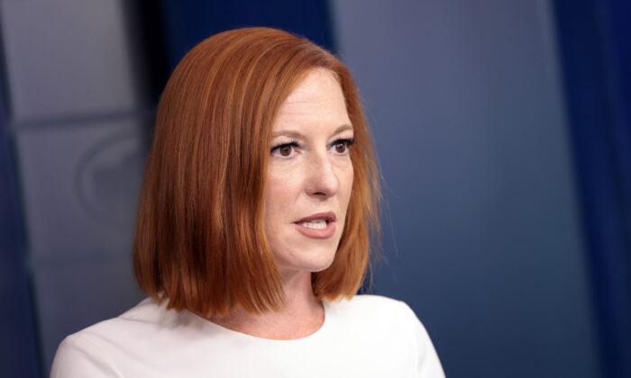 La Casa Blanca advierte a las agencias del posible cierre del gobierno, dice Psaki