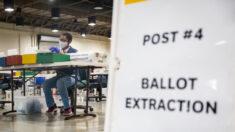 Oficina de registro del Condado de LA verifica 1 millón de boletas antes del día de las elecciones