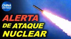 """Alertan de ataque nuclear a Australia. """"Horror masivo"""" en poblado chino"""