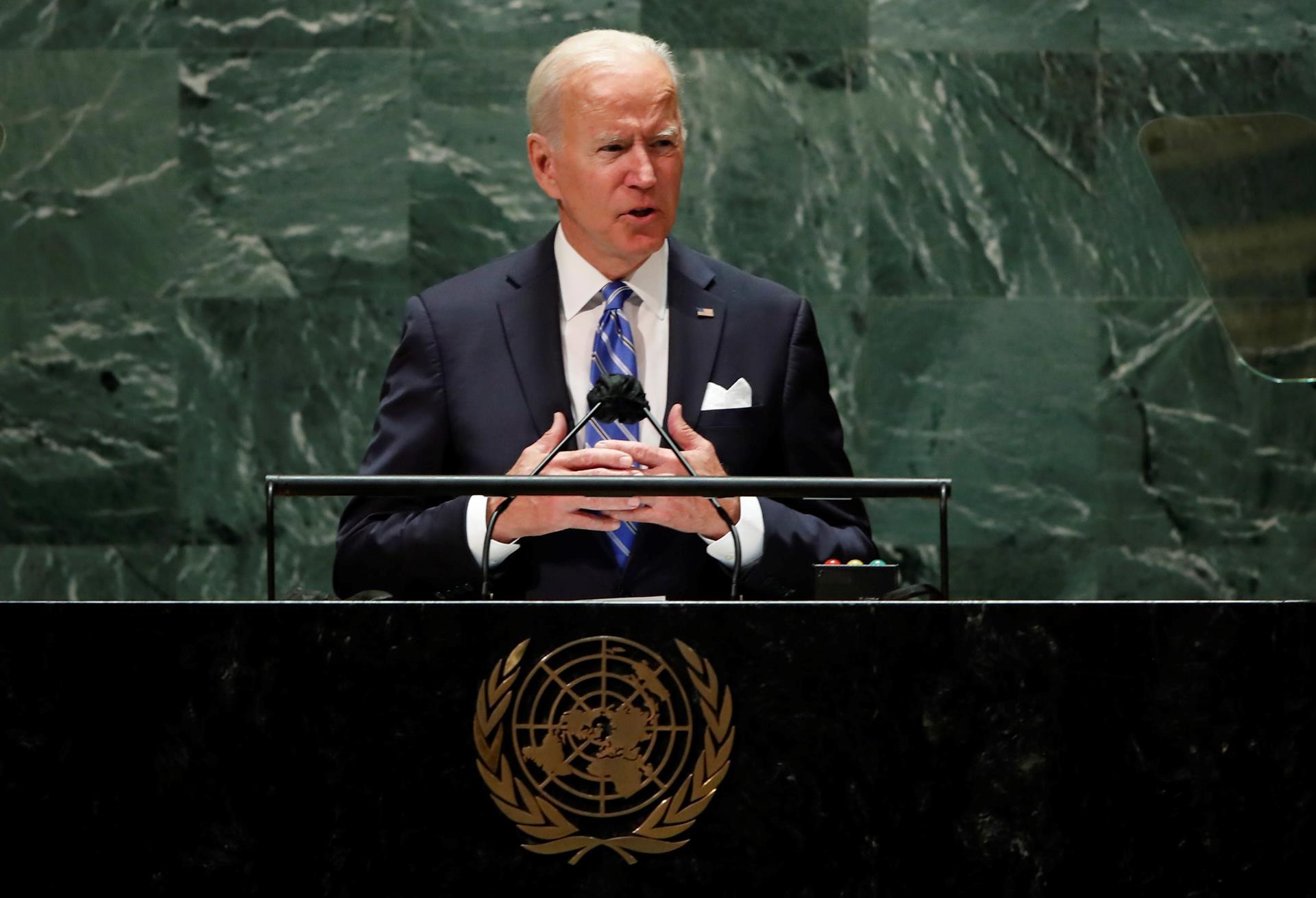 """Biden en ONU: Democracia """"vive"""" en quienes luchan contra dictaduras de Cuba y Venezuela"""