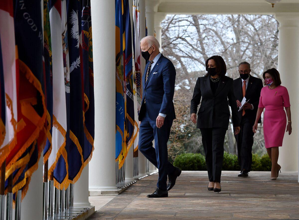 Biden, Pelosi y Schumer discuten próximos pasos para progresar en agenda legislativa de demócratas