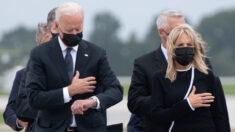 """USA Today corrige """"verificación de hechos"""" sobre Biden viendo su reloj en ceremonia a militares asesinados"""
