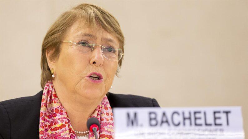 Michelle Bachelet, Alta Comisionada de Derechos Humanos de la Naciones Unidas, en una fotografía de archivo. (EFE/Salvatore di Nolfi)