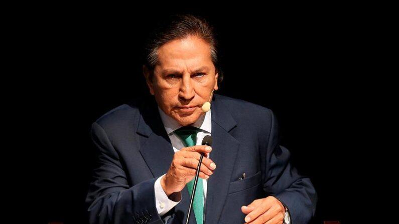 El expresidente peruano Alejandro Toledo, en una fotografía de archivo. EFE/Ernesto Arias