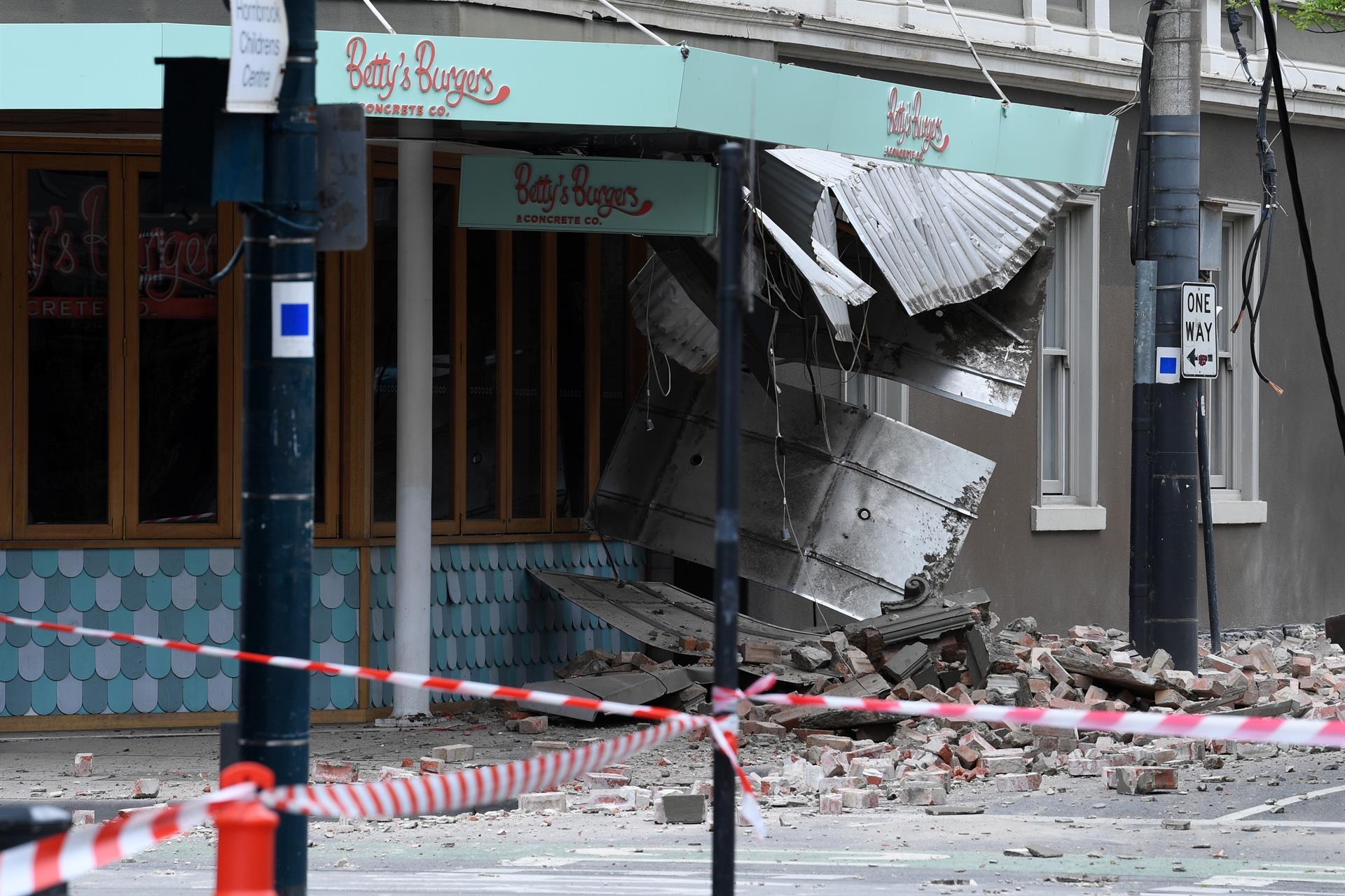 Un terremoto de magnitud 5.9 sacude el sureste de Australia