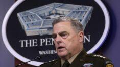 """Milley dice que las llamadas a general chino estaban """"perfectamente"""" dentro de sus funciones"""