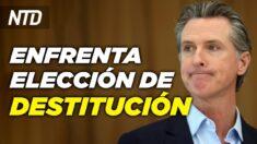 NTD Noticias: California: inician elecciones de destitución; Policías resisten vacunación obligatoria