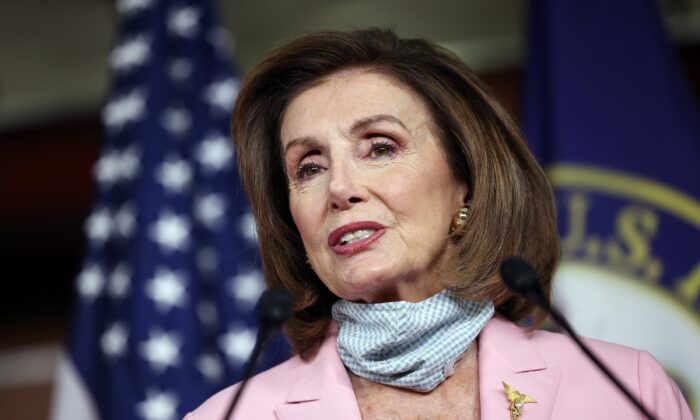 """Pelosi: es """"evidente"""" que el proyecto de gasto de $3.5 billones de los demócratas se reducirá"""