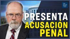 John Durham presenta acusación penal contra el abogado de campaña de Hillary Clinton