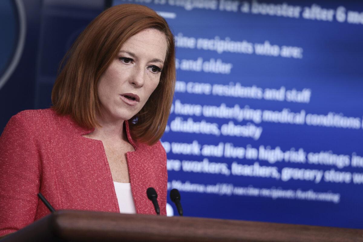 Casa Blanca sigue promocionando vacunas obligatorias mientras NY se prepara para escasez de personal