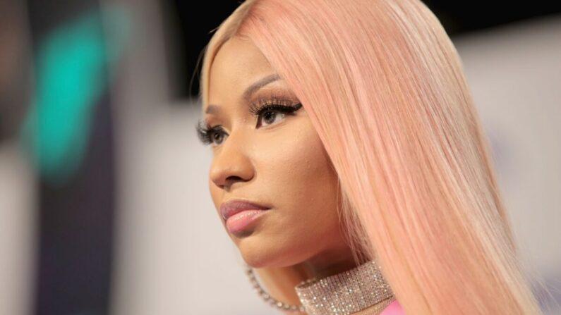 Nicki Minaj asiste a los MTV Video Music Awards 2017 en The Forum en Inglewood, California, el 27 de agosto de 2017. (Christopher Polk/Getty Images)