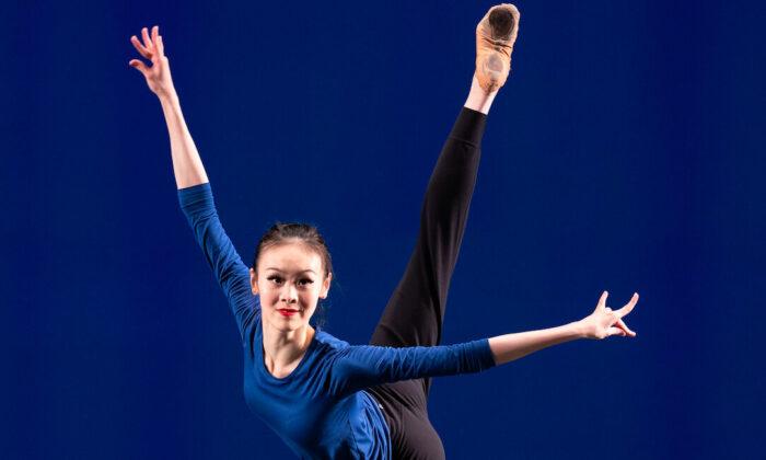 Dancer Sunni Zhou. (Edward Dye)