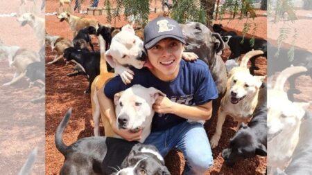 Refugio recibe y rehabilita casos extremos de perritos maltratados y abandonados