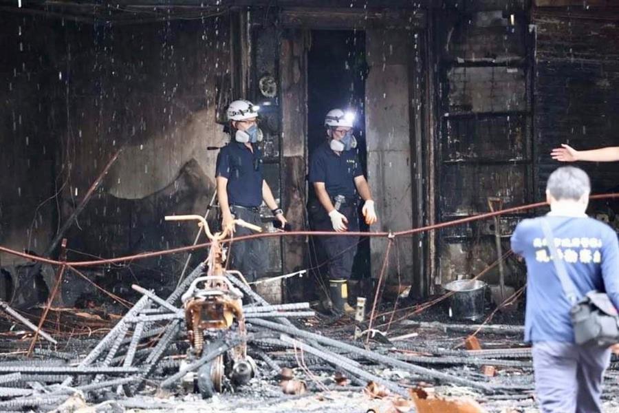 Detienen a principal sospechosa por incendio que mató a 46 personas en Taiwán