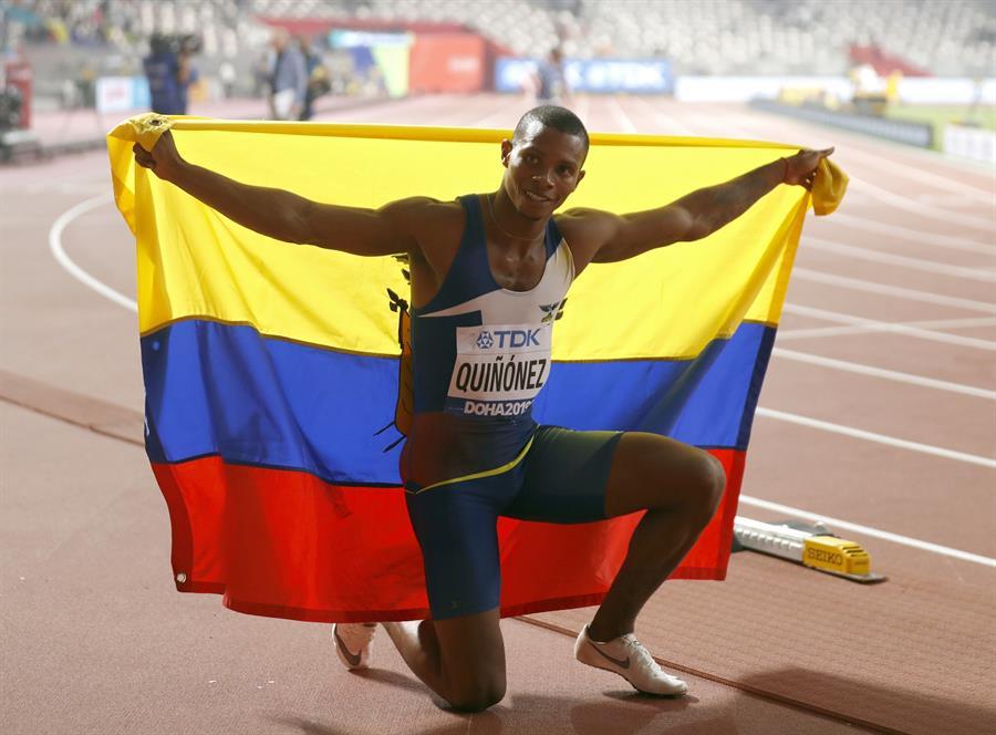 El atleta Alex Quiñónez recibe un disparo mortal en Ecuador