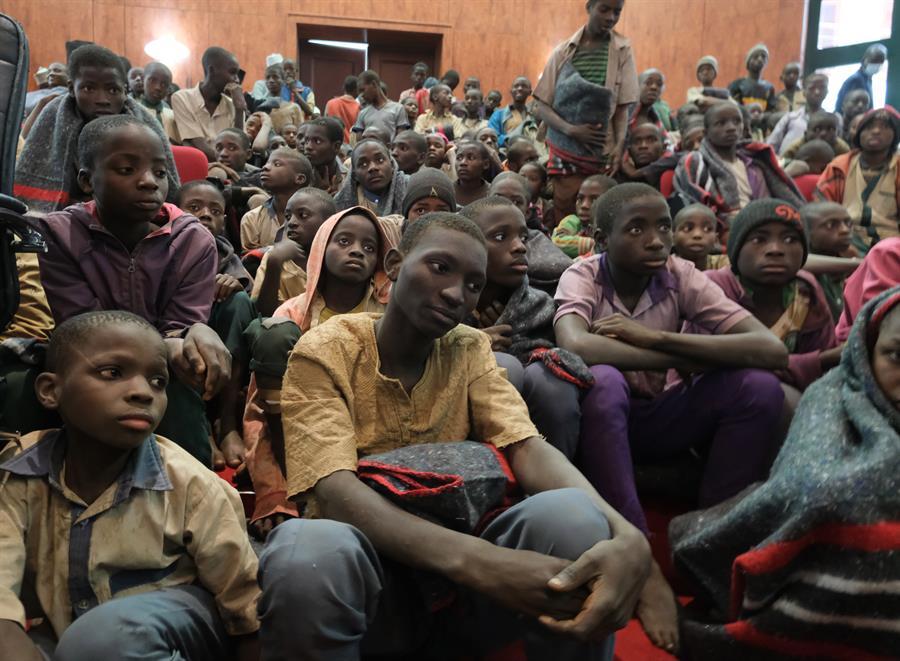 Liberan a 30 estudiantes secuestrados en junio en el noroeste de Nigeria