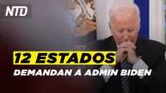 NTD Noticias: 11 estados junto a Ohio demandan a Admin. Biden; Detalles sombríos tras investigación en el set