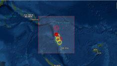 Sismo de magnitud 6.1 sacude el noroeste de Vanuatu en el Pacífico Sur