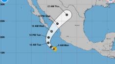 Tormenta Pamela dejará lluvias muy fuertes en el Pacífico mexicano