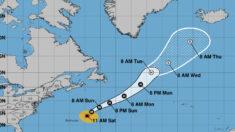 Huracán Sam mantiene su firmeza mientras se aleja de Bermudas
