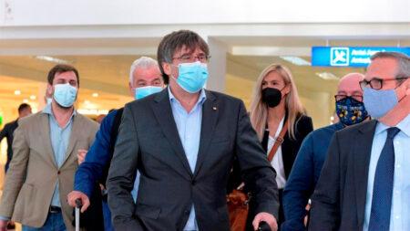 Puigdemont acude ante Tribunal en Cerdeña para su posible entrega a España