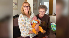 3 generaciones de una familia comparten el mismo cumpleaños, tras nacimiento de un adorable bebé