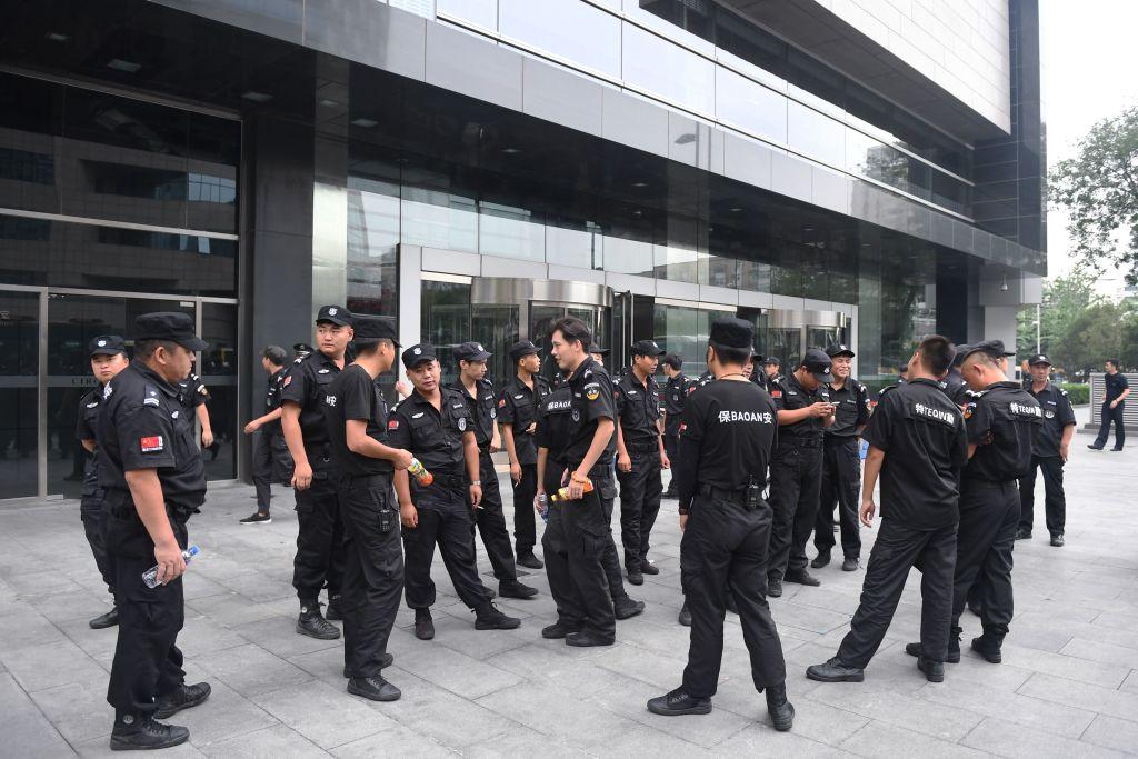 Compradores de propiedades en China protestan por desfalco de un banco