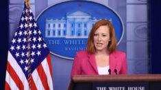 """""""No hay cambios"""" en política de EE.UU. sobre Taiwán: Psaki luego que Biden prometiera defender la isla"""
