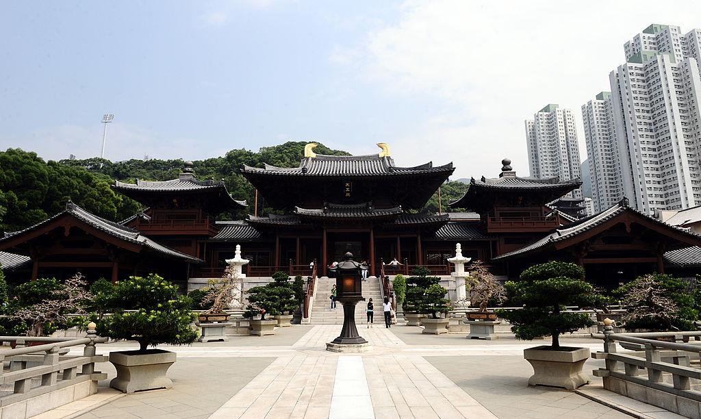 convento budista Chi Lin en Hong Kong