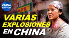 """Varias explosiones e incendios conmocionan a China. Biden es insultado: """"incapaz y degenerado"""""""