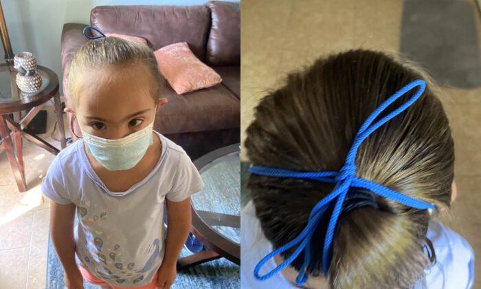 Maestra puso mascarilla a niña con síndrome de Down sin el consentimiento de los padres: Padre