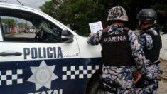 Grupo intenta robar un banco en México con una bomba falsa y toma de rehenes