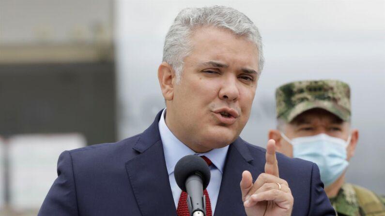 El presidente de Colombia, Iván Duque. (EFE/ Carlos Ortega/Archivo)