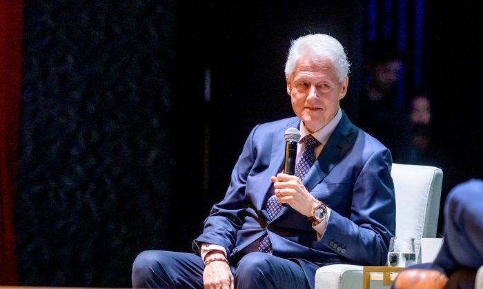 Hospitalizan en California al expresidente Bill Clinton, informa su portavoz