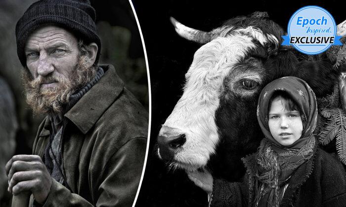 Proyecto fotográfico de 15 años muestra humildes lazos entre pastores de Transilvania y sus rebaños