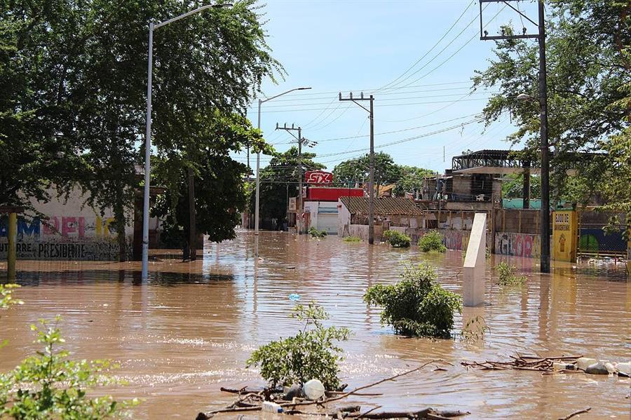 Huracán Pamela deja más de 10,000 damnificados en el Pacífico mexicano