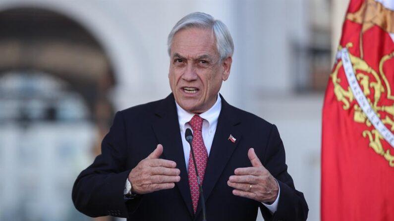 El presidente de Chile, Sebastián Piñera, en una fotografía de archivo. EFE/Alberto Valdés