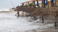 Huracán Pamela toca tierra en el estado mexicano de Sinaloa