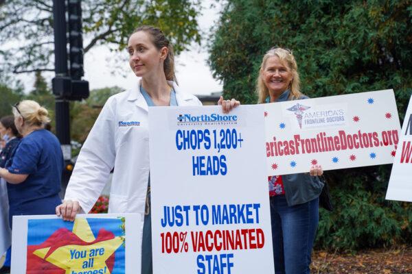 Empleados de la salud demandan a hospital por negarles exenciones religiosas ante regla de vacunación