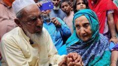"""Madre e hijo se reencuentran 70 años después de separarse:""""¡Mi deseo se cumplió!"""""""