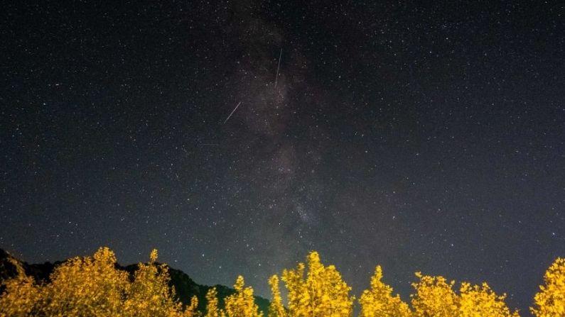 Hermosa lluvia de meteoros de las Oriónidas está a días de su noche más álgida: ¡No te la pierdas!