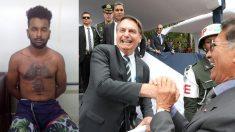 Homem é detido após divulgar vídeo com plano para matar Bolsonaro