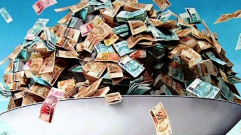 Em 2020, com as eleições e o Fundão Eleitoral, a bolada vai superar R$ 4 bilhões (Imagem via Diário do Poder)