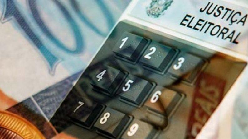 Nessas eleições, está proibido o financiamento de empresas a campanhas eleitorais (Imagem via Diário do Poder)